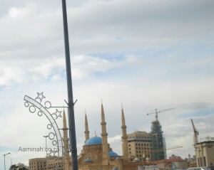 Blue Mosque, Downtown Beirut